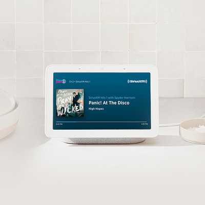 SiriusXM Select 6-month subscription with Google Nest Hub