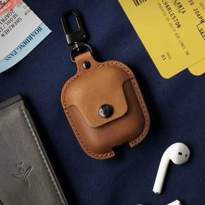 Protect your AirPods in style with $6 off Twelve South's leather AirSnap case