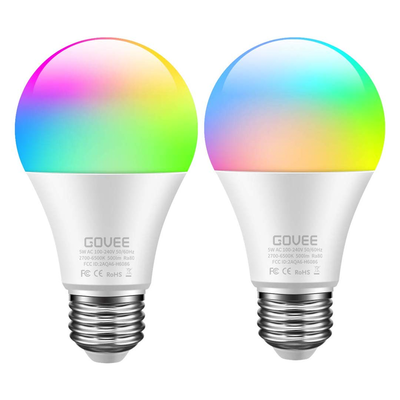 Govee Dimmable Multi-Color Smart Bulb (2-Pack)