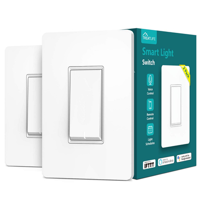 Treatlife Smart Wi-Fi Light Switch 2-Pack