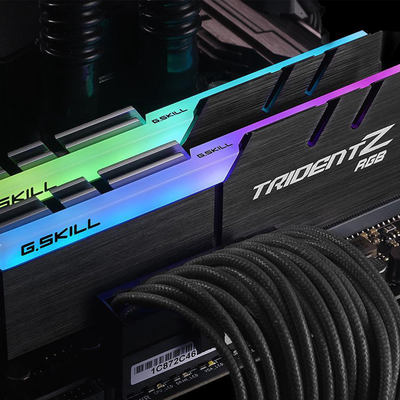Add 16GB of RAM to your build with G.Skill's TridentZ RGB DDR4 memory on sale for $110