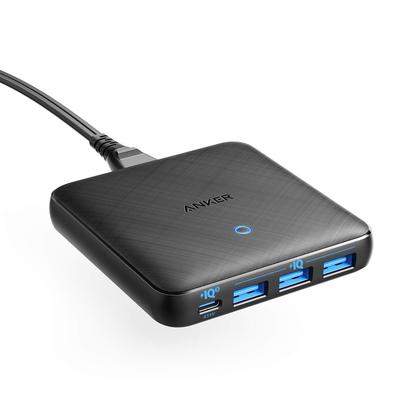 Anker 65W PowerPort Atom 3 PIQ 3.0 & GaN Fast USB Wall Charger