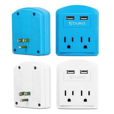 Aduro Surge Protectors with Dual USB Ports