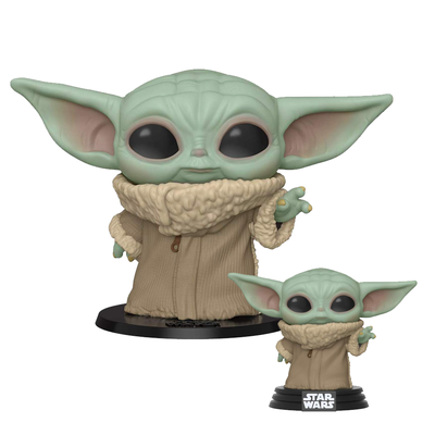 "Funko Pop! Star Wars: The Mandalorian - The Child ""Baby Yoda"" figures"