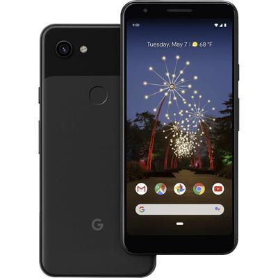 Google Pixel 3a 64GB unlocked Just Black smartphone refurbished