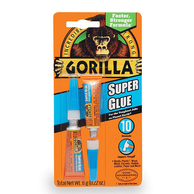 Strengthen your bonds with two tubes of Gorilla Super Glue for only $4