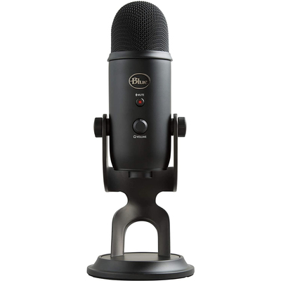 Blue Yeti USB condenser microphone blackout