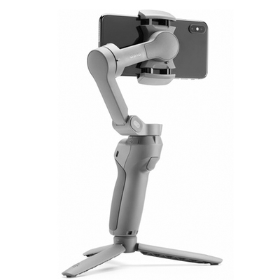 DJI Osmo Mobile 3 smartphone gimbal with mini tripod and case