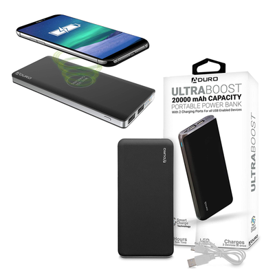Aduro Power Banks and Wireless Chargers
