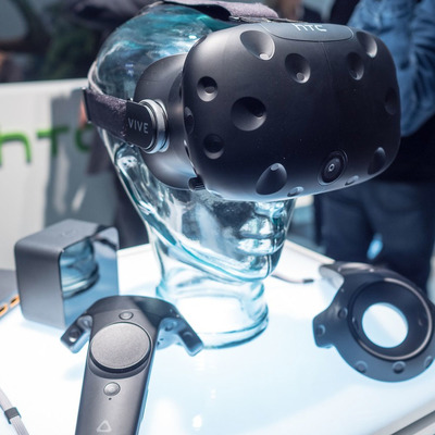 Step into a new world with $20 off the HTC Vive virtual reality system