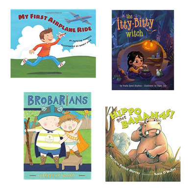 Add to the bedtime story library with up to 50% off children's books