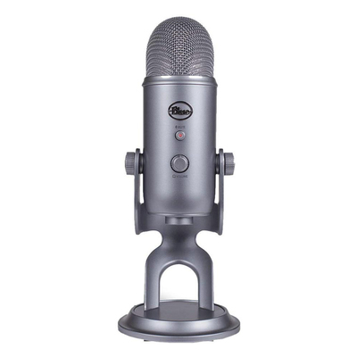 Blue Yeti USB-powered microphone Cool Gray