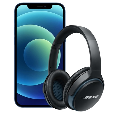 iPhone 12 or iPhone 12 Pro with free Bose Wireless Headphones