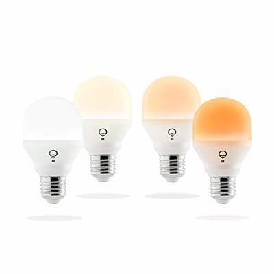 LIFX Mini Day & Dusk A19 Wi-Fi Smart LED Light Bulb 4-Pack