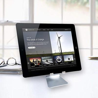 Oternal adjustable cell phone or tablet desktop stand and holder