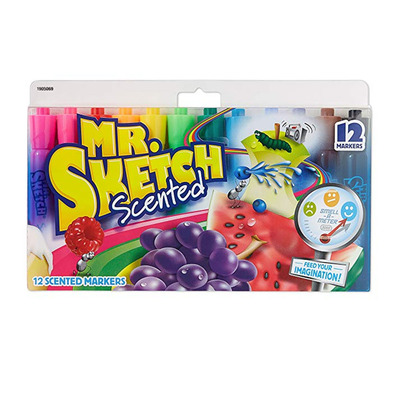 Give your kids a history lesson with 12 Mr. Sketch scented markers for $5