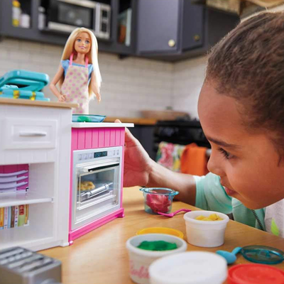 Help prepare Barbie's next meal with the Ultimate Kitchen playset at $23 off