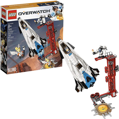 Lego Overwatch Watchpoint: Gibraltar 730-piece building kit