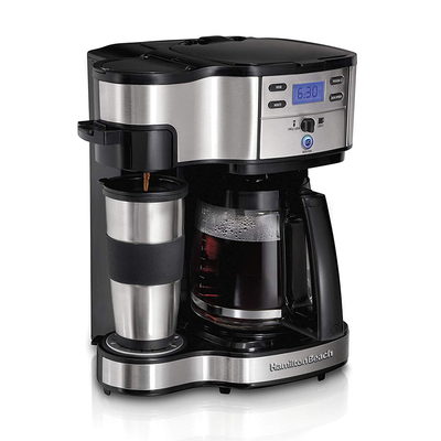 This one-day fire sale on the Hamilton Beach 2-Way Coffee Brewer is scalding