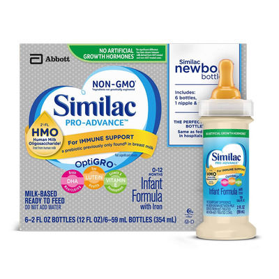 Save 40% on Similac Ready to Feed Bottles with this coupon at Amazon
