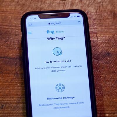 Free $50 Ting Mobile credit