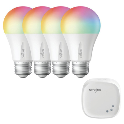 Sengled smart led multi-color A19 starter kit 4-pack