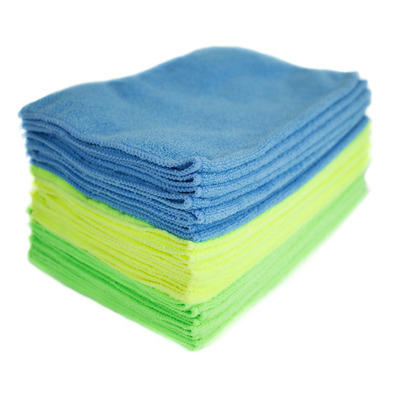 Clean sans the streaks with 24 Zwipes Microfiber Cleaning Cloths for only $11