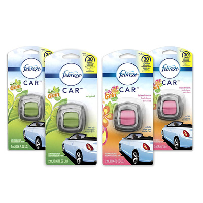 Spruce up your car by nabbing four Febreze Air Fresheners for only $8