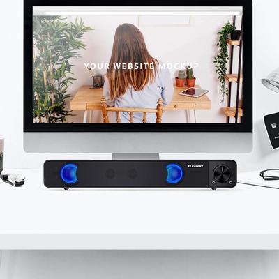 ELEGIANT USB Computer Stereo Sound Bar