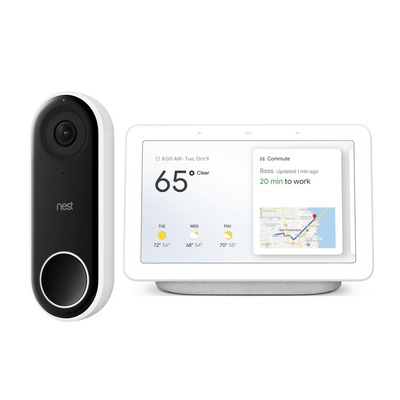 Free Google Nest Hub with Nest Hello Doorbell Purchase