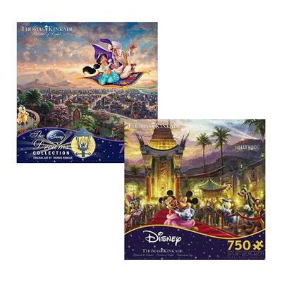 Jigsaw Puzzles sale: Disney Thomas Kinkade, Ravensburger, and more