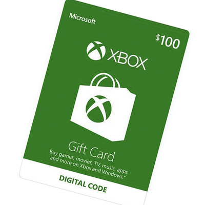 Xbox $100 Gift Card digital delivery