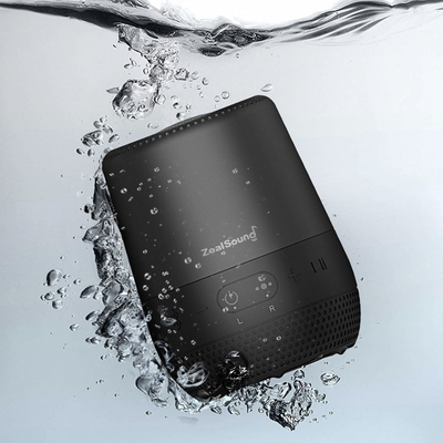 The ZealSound Bluetooth speaker on sale for $16 blasts sound at home or by the pool