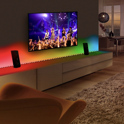 Minger DreamColor 16.4-foot LED music sync app-controlled light strip amazon