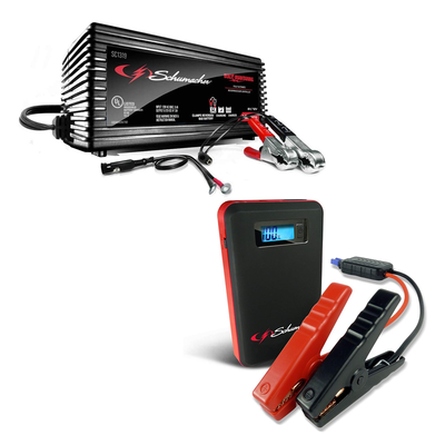 Battery chargers and Jump Starters sale