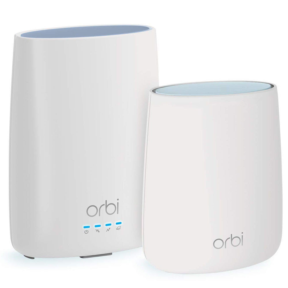 Blanket your entire home in Wi-Fi with 29% off a Netgear Orbi Mesh System