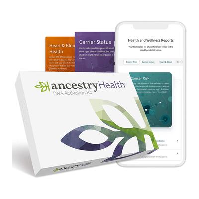 AncestryDNA: Health + Genetic Ethnicity Test Kit