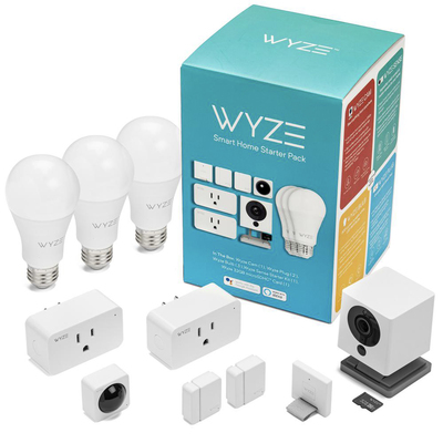 Wyze Smart Home Starter Bundle home depot