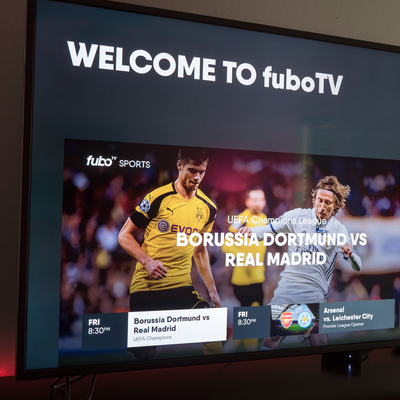 American Express users get up to $45 off a FuboTV subscription
