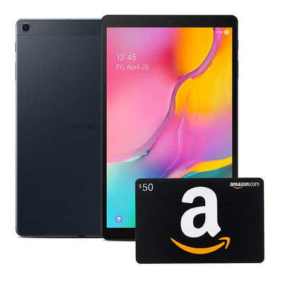 Samsung Galaxy Tab A with $50 Amazon Gift Card