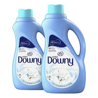 Keep clothes soft and fresh-smelling with two bottles of Downy Fabric Conditioner for $7 shipped