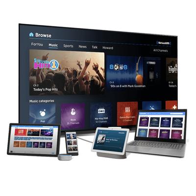 SiriusXM Essential Streaming: Free 4-month Trial