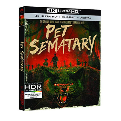 Pet Semetary: 30th Anniversary Edition (4K Ultra HD Blu-ray + Digital)