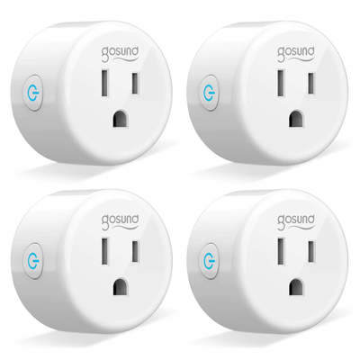 Gosund Mini Smart Plug (4-pack)