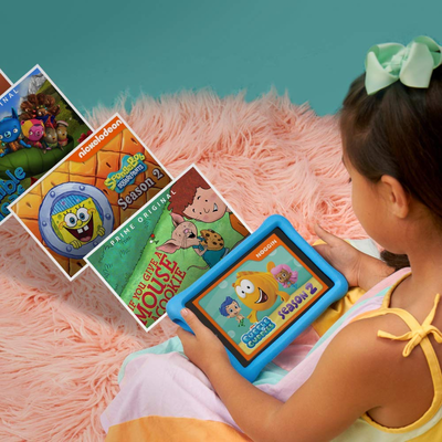 Amazon's discounted Fire HD 8 Kids Edition Tablet on sale for $90 comes prepared for anything