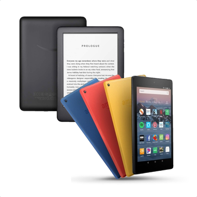 Refurbished Amazon Fire Tablets and Kindle E-Readers