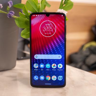 Moto Z4 smartphone