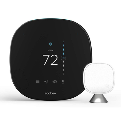 Ecobee SmartThermostat with voice control and smart sensor
