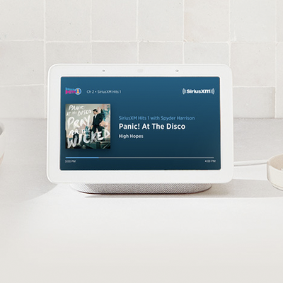 SiriusXM Select 6-month subscription with free Google Nest Hub