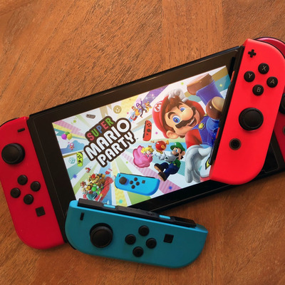 Nintendo switch mario day bundle